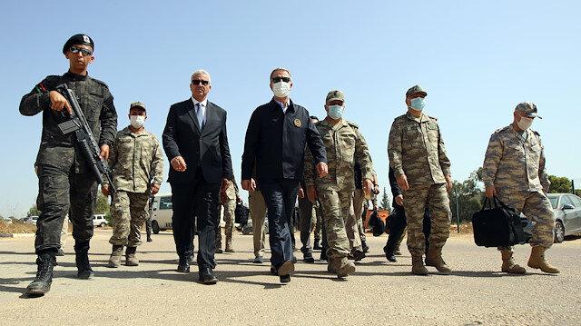 Turkish Defense Minister Hulusi Akar in Libya