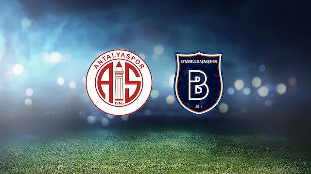 Antalyaspor-Başakşehir