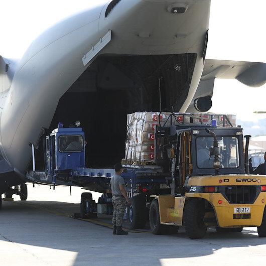 دفعة ثانية من المساعدات الطبية التركية لصربيا