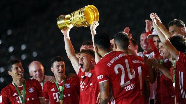 قدم: بايرن ميونيخ يتوّج بلقب كأس ألمانيا