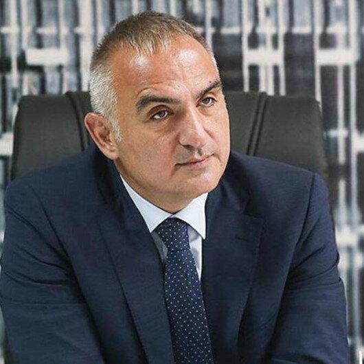 Kültür ve Turizm Bakanı Mehmet Nuri Ersoy: Hem büyükelçiler hem yabancı basın mensupları destek  talep ettiler