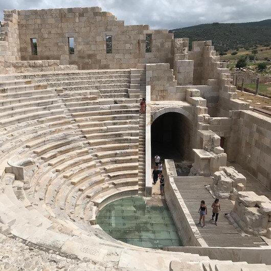 Traces of history fascinate Turkey's Patara visitors