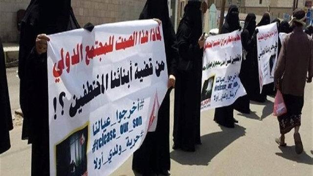 اليمن.. أمهات المختطفين تطالب الانتقالي بالكشف عن ذويهم