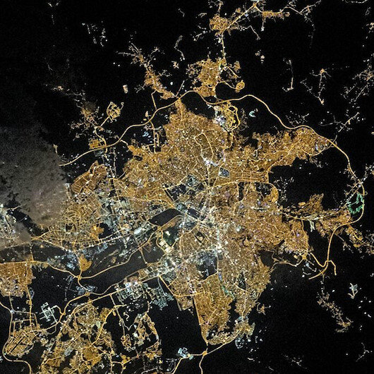 NASA captures image of Turkey's capital at nighttime