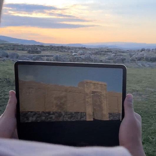 Sanal gerçeklik ile 3 bin 500 yıl öncesinin Hattuşa'sına ışınlandılar
