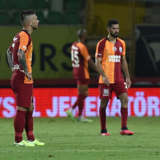 Galatasaray suffer shock defeat to Aytemiz Alanyaspor