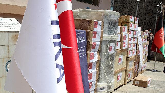 """""""تيكا"""" التركية تقدم مساعدات طبية لمشفى أطفال بأفغانستان"""