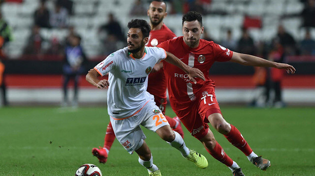Antalyaspor-Alanyaspor maçı muhtemel 11'leri