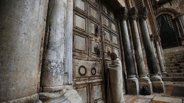 كورونا: كنيسة القيامة في القدس تعيد إغلاق أبوابها