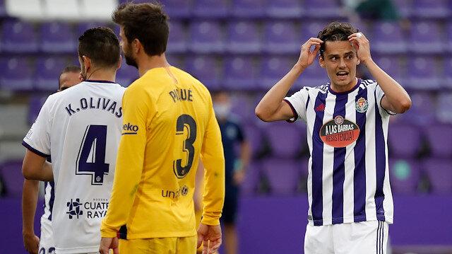 Barcelona Enes Ünal'lı Real Valladolid'i tek golle geçti
