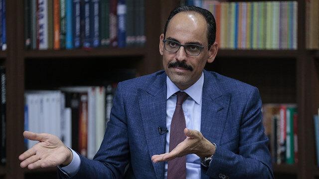 Turkish Presidential Spokesperson Ibrahim Kalin