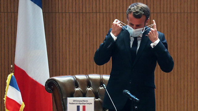 Masks to be mandatory in enclosed public spaces in next weeks: Macron