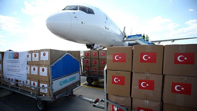 تركيا ترسل مساعدات طبية إلى كازاخستان