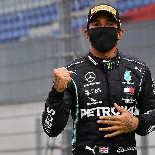 Lewis Hamilton pledges 'lifelong' fight against racism