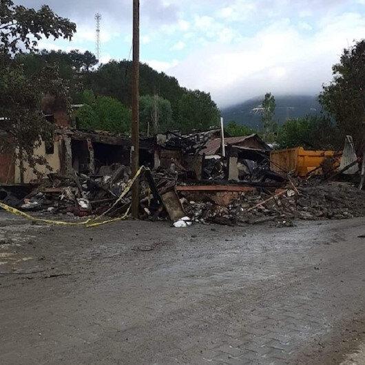 Bolu'da çıkan yangında kahreden detay: İki çocuğun cansız bedeni birbirlerine sarılmış vaziyette bulundu