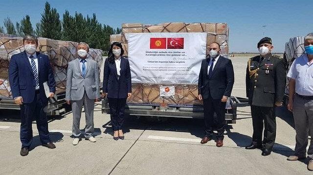 Turkey's medical COVID-19 aid arrives in Kyrgyzstan