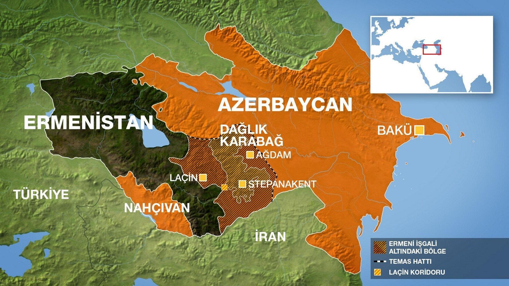 Son dakika: Azerbaycan ve Ermenistan arasındaki gerilimde son ...