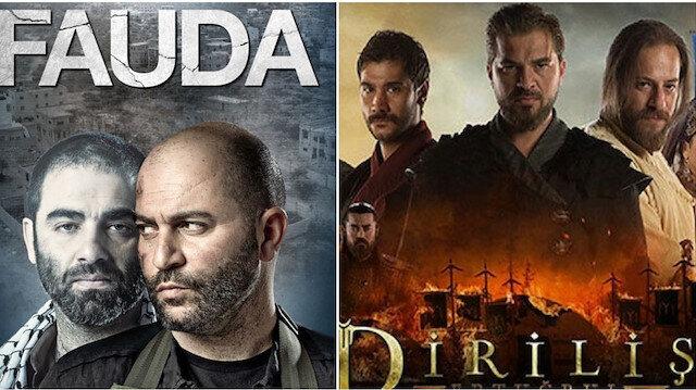 "Turkish television series ""Resurrection: Ertugrul,"" and The Israeli political TV series ""Fauda"""