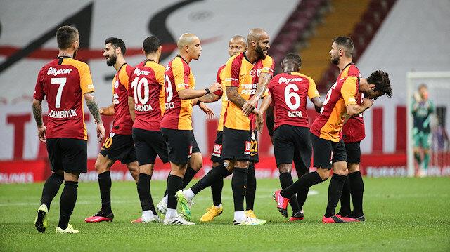 Galatasaray'ın 8 maçlık galibiyet hasreti bitti