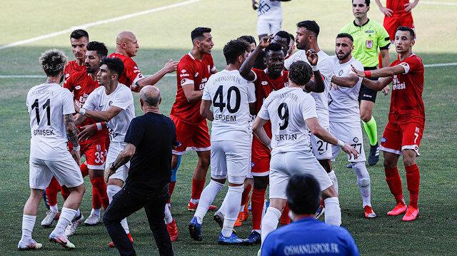 Osmanlıspor 2. Lig'e düştü