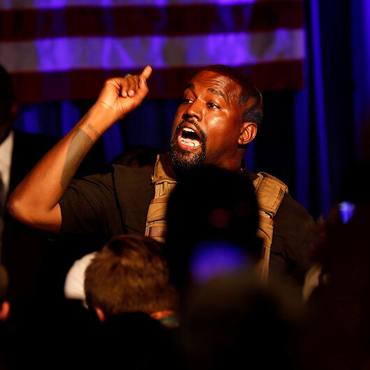 Kanye West posts series of rambling late night tweets comapring himself to Nelson Mandela