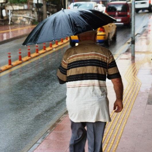 Meteorolojiden bazı illere sağanak yağış uyarısı yapıldı