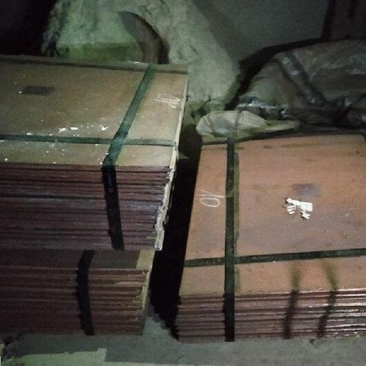 Denizli'de 26 ton saf bakırı çaldıkları iddiasıyla 2 şüpheli yakalandı
