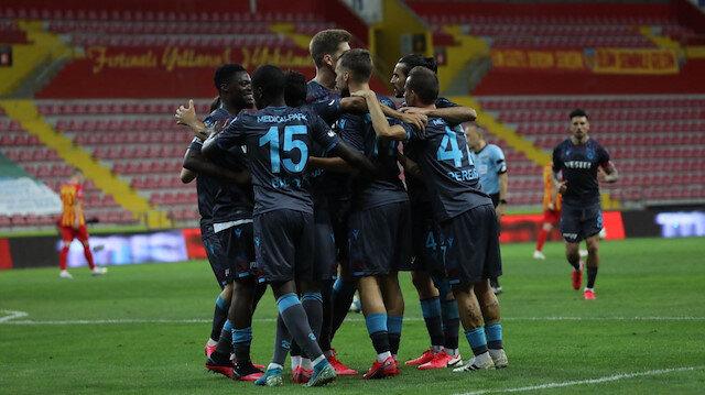 Trabzonspor kazandı Kayserispor küme düştü