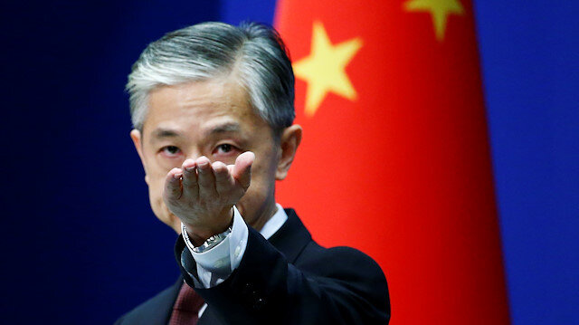 Chinese Foreign Ministry spokesman Wang Wenbin