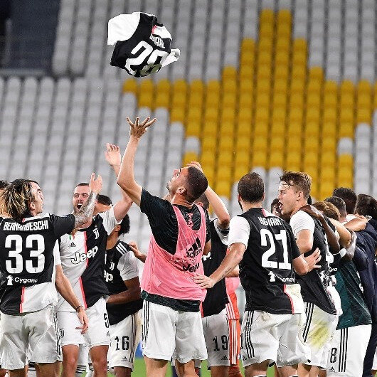 Juventus win 9th consecutive Serie A title