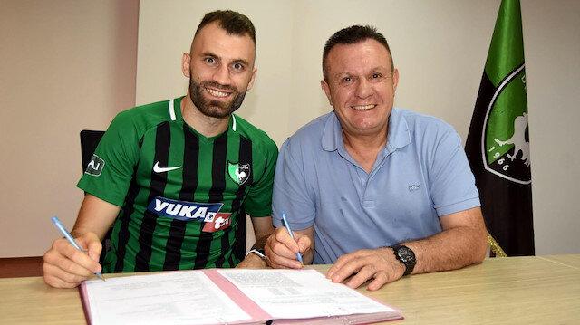 Denizlispor Mustafa Yumlu ile 2 yıllık sözleşme imzaladı
