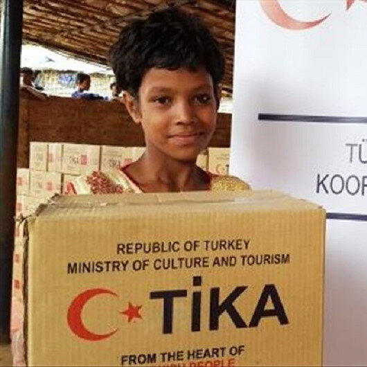 Turkey's TIKA provides Eid gifts to Bangladeshi kids