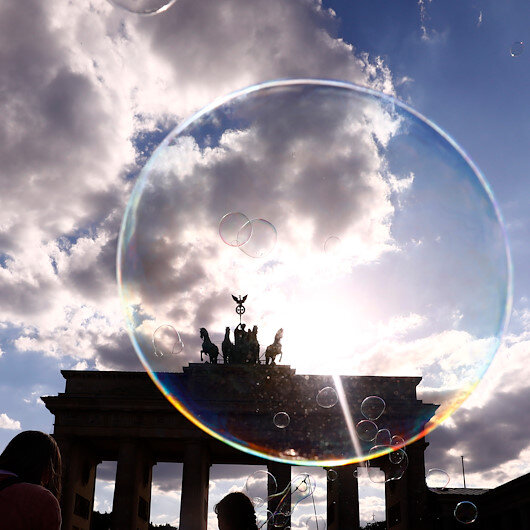 German economy narrows by over 10% in Q2