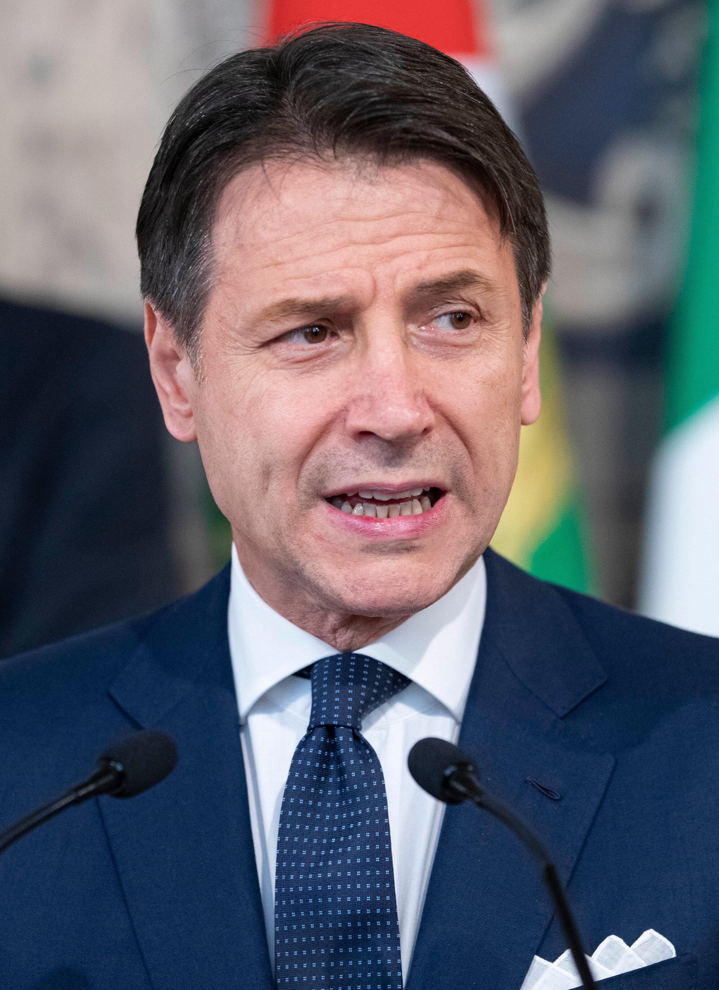 İtalya Başbaşkanı Giuseppe Conte, Meclis'ten OHAL uzatma yetkisini aldı