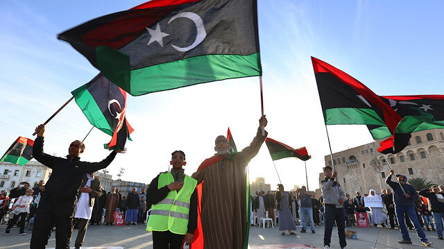 File photo: Protest against Haftar in Tripoli