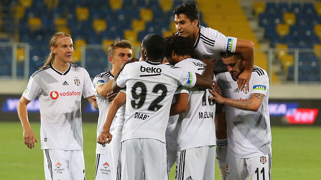 Beşiktaş, Süper Lig'de sezonu 3. sırada tamamladı.