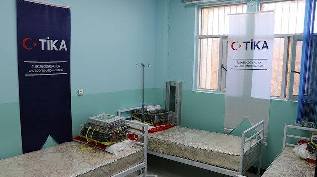 """""""تيكا"""" التركية تدعم إصلاحية أفغانية بغرفة إسعافات أولية"""