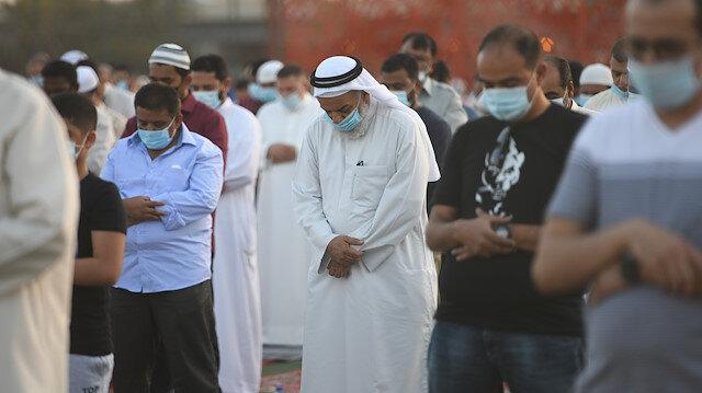 Eid al-Adha prayer in Kuwait