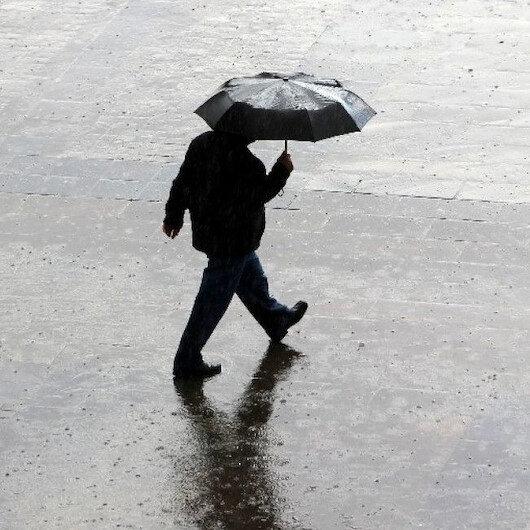 Meteoroloji'den 4 il için uyarı: Sağanak yağış bekleniyor