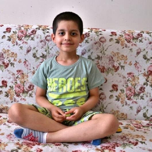 Tedavisini Cumhurbaşkanı Erdoğan üstlenmişti: Küçük Taha'dan güzel haber