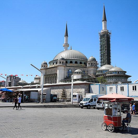 """إسطنبول.. اكتمال 65 بالمئة من أعمال بناء مسجد """"تقسيم"""""""