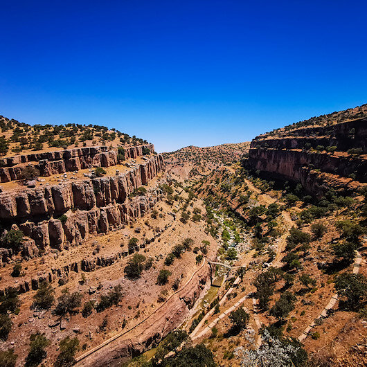 Turkey's Girmana Canyon enthralls nature-lovers