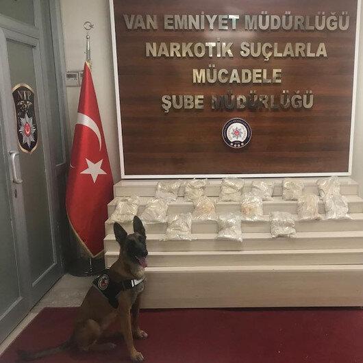 Over 15 kg of heroin seized in eastern Turkey