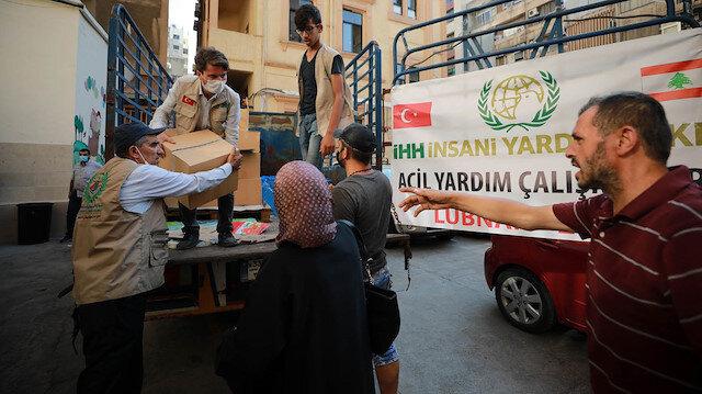 Turkey's IHH aids thousands in Lebanon after blast