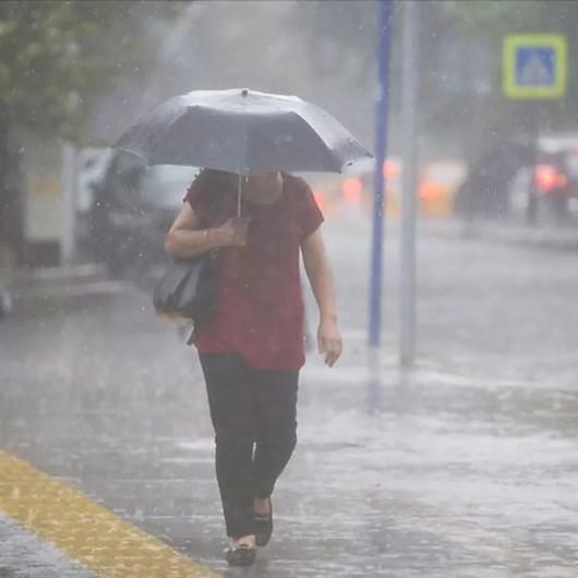 Meteoroloji hava durumu raporunu açıkladı: Yedi il için sağanak yağış uyarısı!