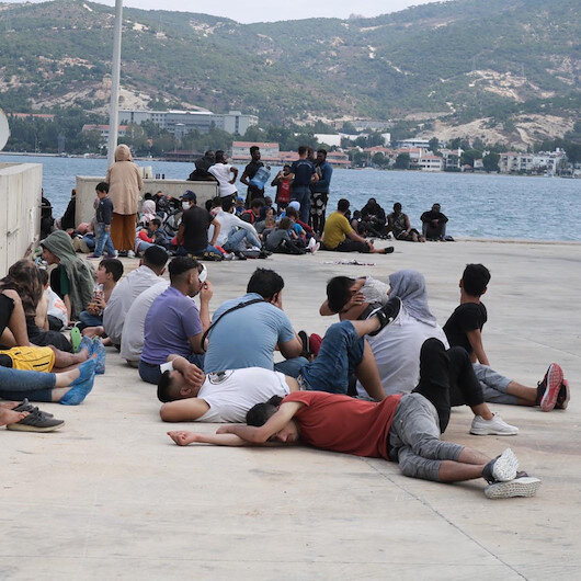 At least 62 irregular migrants held in Istanbul
