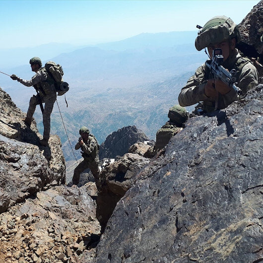 Turkish drones unveil PKK propaganda in N.Iraq