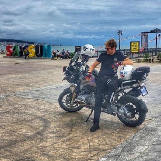 'Dur' ihtarına uymayan sürücüyü kovalıyordu: Samsun'daki yunus polisinden acı haber geldi