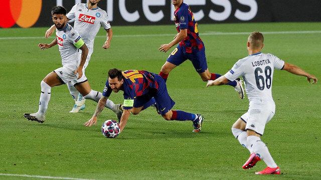 Şampiyonlar Ligi'nde gecenin golü Messi'den (ÖZET)