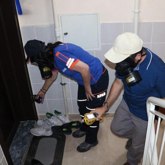 Sivas'ta bir kişi temizliği abarttı: Komşular kimyasal sızıntı sandı, ekipler alarma geçti